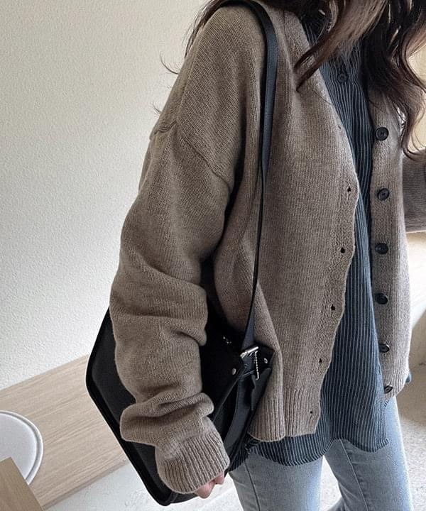 Coca Loose-fit Knitwear Cardigan