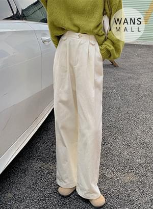 pt6270 boring pintuck wide pants