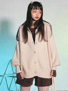 Wool Koi Knitwear Cardigan
