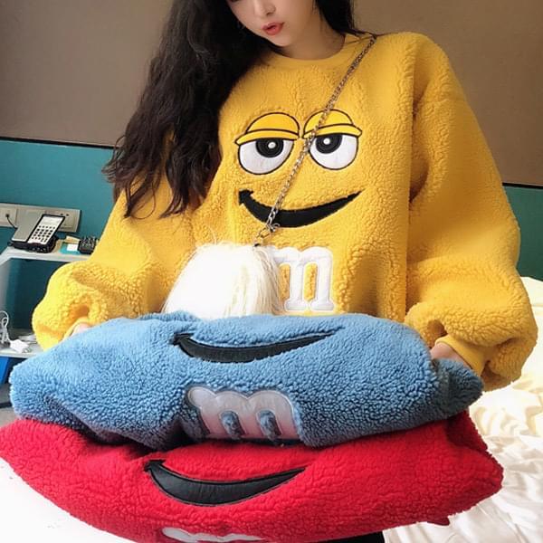 Sweatshirt Wangi MM Fleece Sweatshirt