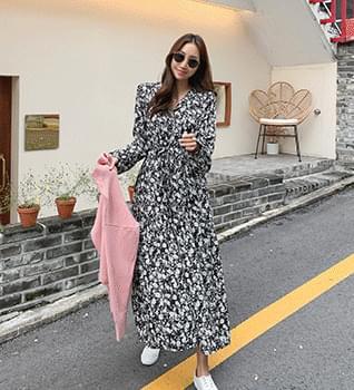 Flower Pattern Dress #38130