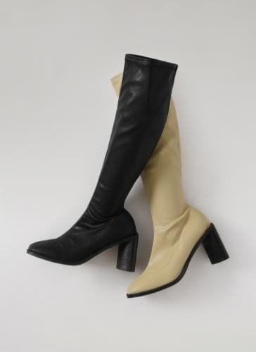 Simon Square Socks Long Boots BLLTS4d620