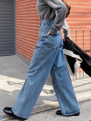 Sold Denim Wide Pants