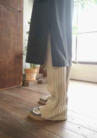 slim fit golgi knit pants