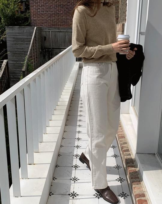 Puty Long Wide Cotton Pants - 1 color