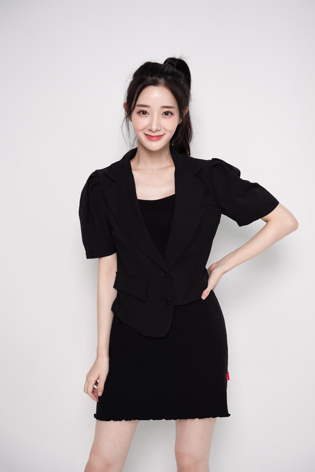 Asymmetrical Hem Jacket