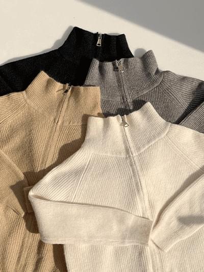 Weldon Knitwear Zip-Up