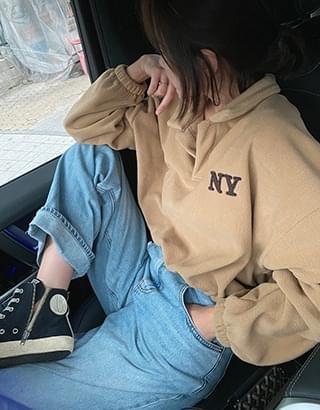 New York fleece Sweatshirt