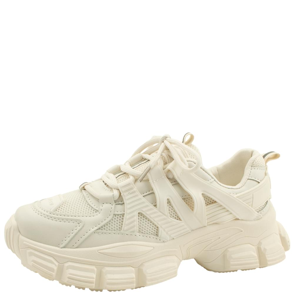 Mash Ugly Shoes Sneakers 5cm Beige