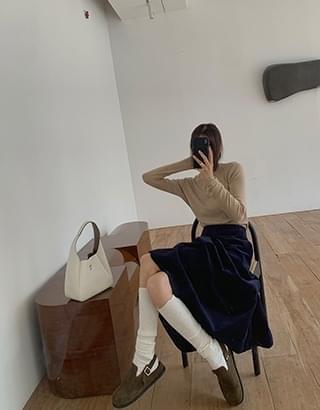 alto corduroy skirt
