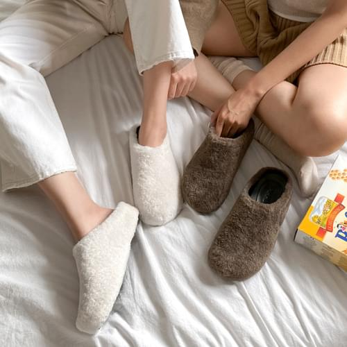 revrun fur slippers
