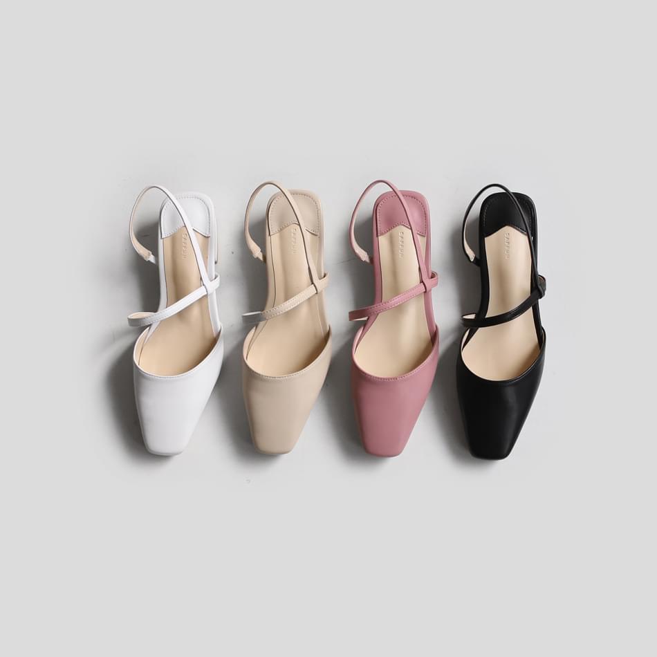 Ozend strap flat shoes