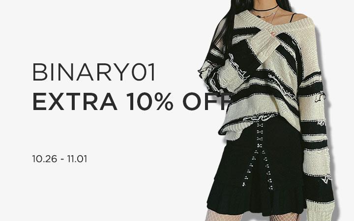 BINARY01 EXTRA 10% OFF