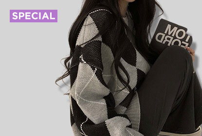 1件寬鬆菱格紋針織衫竟然有12種穿搭法,你學會了嗎?