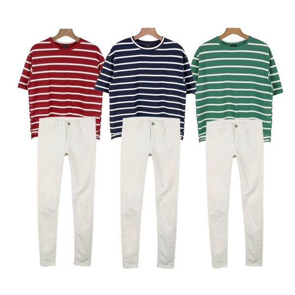 daily monday high-quality stripe tee,daily monday high-quality stripe tee,daily monday high-quality stripe tee등을 매치한 코디