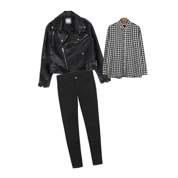 daily monday Boy-fit outer shirt,daily monday Timeless cotton color pants[컬러팬츠,코튼,팬츠,스키니,바지],YOU & ME 베이직벨트라이더[재입고]등을 매치한 코디