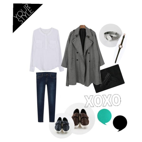 MISS PRESIDENT 권총 (2color)[Bag],daily monday Velcro washing sneakers[스니커즈,신발,벨크로,슈즈],daily monday Velcro washing sneakers[스니커즈,신발,벨크로,슈즈]등을 매치한 코디