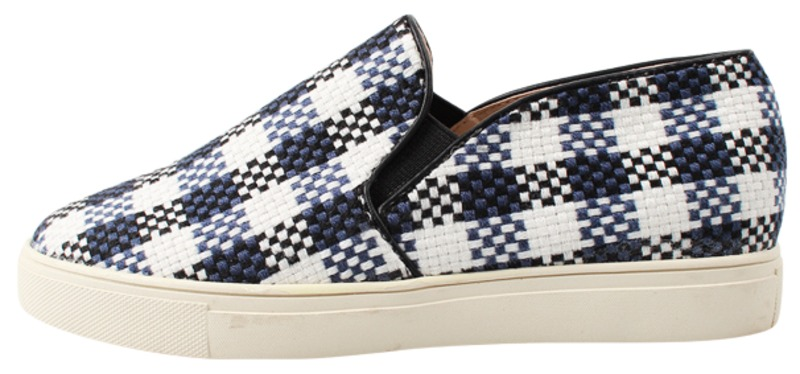 lattice slip-on, shoes
