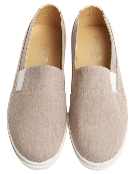 Men lucia fabric slip-on, shoes