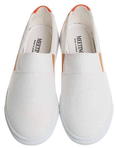lucia fabric slip-on, shoes