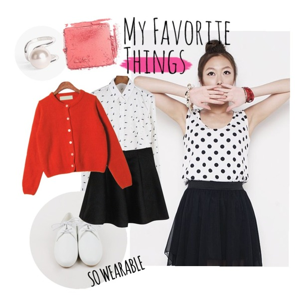 untitled,biznshoe Pearl point ring,daily monday Spring light loafer등을 매치한 코디