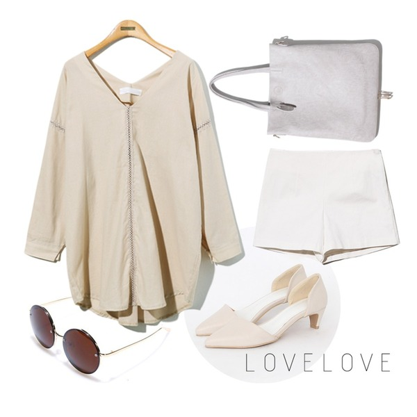 Reine Abel Two In One Bag,Reine Gold Metal Sunglasses,TODAY ME [shoes]라푼젤 슈즈등을 매치한 코디