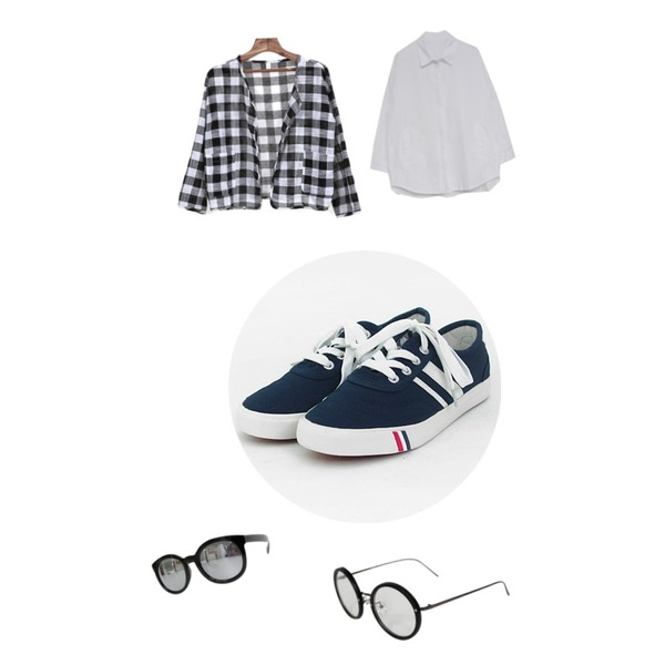 MIND ME 베이직 nb 코튼자켓 (3color),Rough & Detail stupid, glasses_black,TODAY ME [shoes]컬러뷰 슈즈등을 매치한 코디