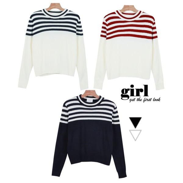 daily monday Up line knit top,daily monday Up line knit top,daily monday Up line knit top등을 매치한 코디