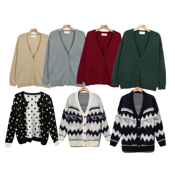 daily monday Wool loose-fit cardigan,daily monday Wool loose-fit cardigan,daily monday Wool loose-fit cardigan등을 매치한 코디
