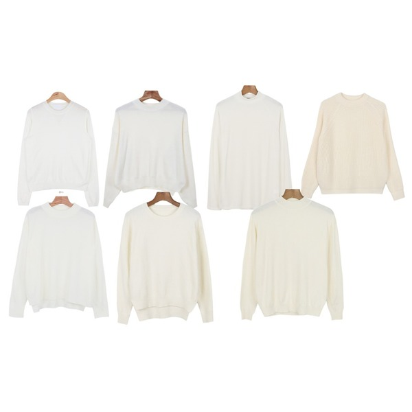daily monday Basic unbal knit,AIN triangle detail color knit (5 colors),Zemma World 스낵바 (knit) [순차적발송]등을 매치한 코디