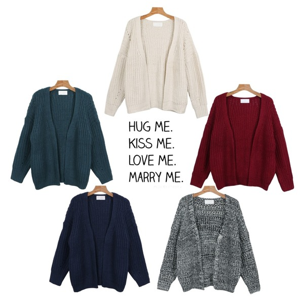 daily monday Non-button loose knit cardigan,daily monday Non-button loose knit cardigan,daily monday Non-button loose knit cardigan등을 매치한 코디