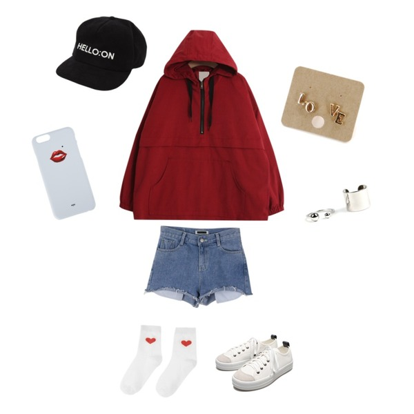 MIXXMIX MXM series1.Garnet phone case25일 입고 예정,daily monday Nature vintage short pants,TODAY ME [mtm]모르코 아노락등을 매치한 코디