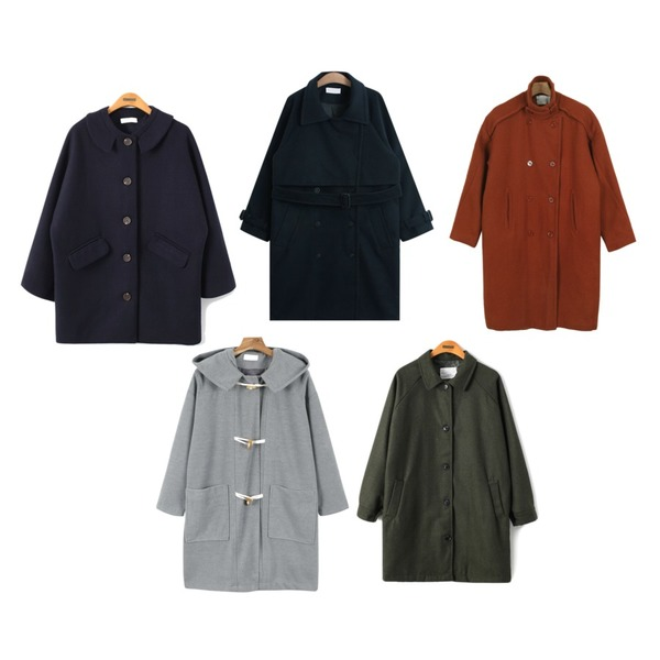 daily monday Oversize chic color coat,Reine Mellu Praha Wool Coat,TODAY ME [coat]로먼 코트등을 매치한 코디