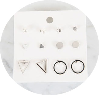 Zem No.55 (earring set)