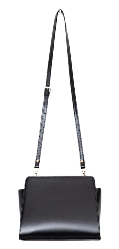 trapezium shoulder bag (2 colors)