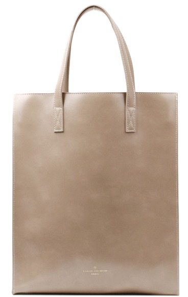 Shopper color square bag (10color)