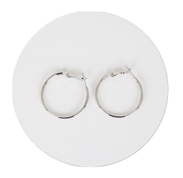 Basic Ring Earrings