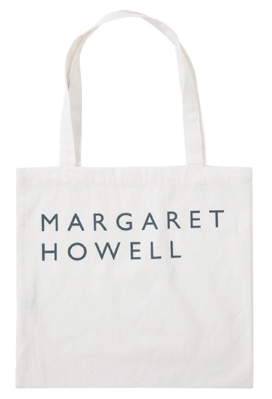 Howell lettering eco bag_Y (size : one)