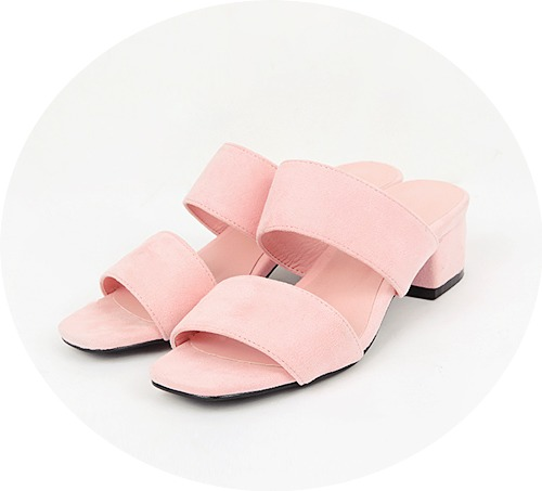 2 line middle slippers (5 colors)