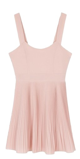 ONLY MIX Pleats point dress