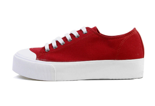 Basic canvas sneakers (4color)