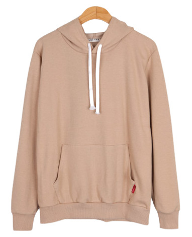 Point label hoodie