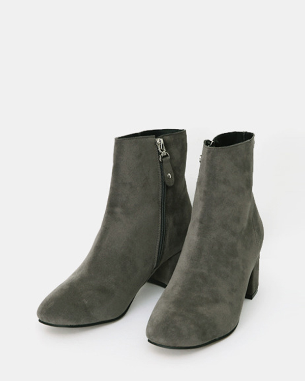 suede basic walker boots (3 colors)