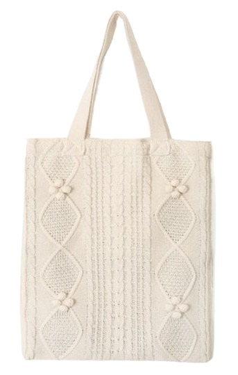 girlish knit bag (4 colors)