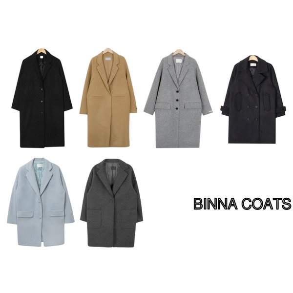From Beginning Mild single handmade coat_K(size : free),BANHALA 봄의노래 코트,From Beginning Gram handmade over coat_M (size : free)등을 매치한 코디