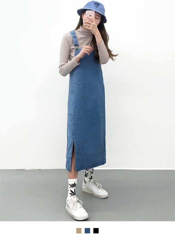 Connie overalls skirt 822