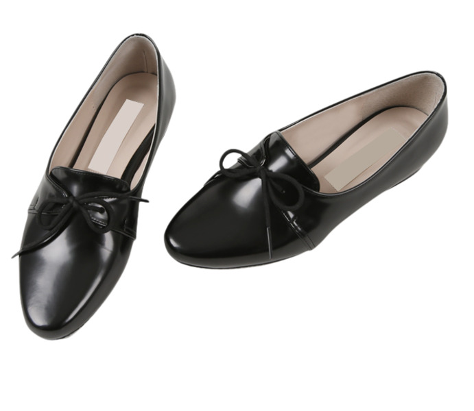 Ida Ribbon Loafers-Black 235