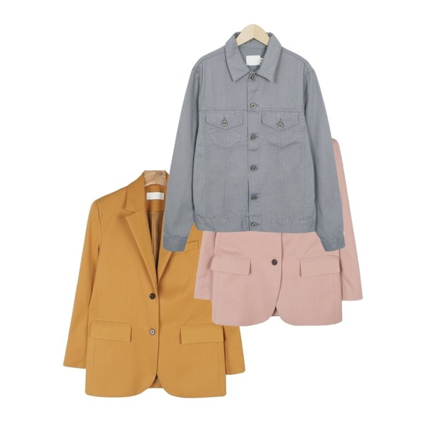 From Beginning Diligent cotton jacket_M (size : free),daily monday Single color jacket,daily monday Single color jacket등을 매치한 코디
