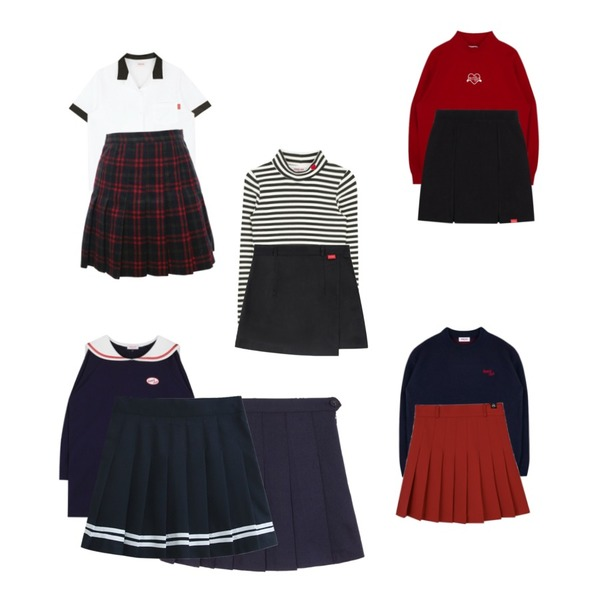 MIXXMIX Heart club 16SSHeart Mini Shorts(Black),MIXXMIX Heart club 16SC Heart back point shirts(Black),MIXXMIX Heart Sleeve Knit (Navy)등을 매치한 코디