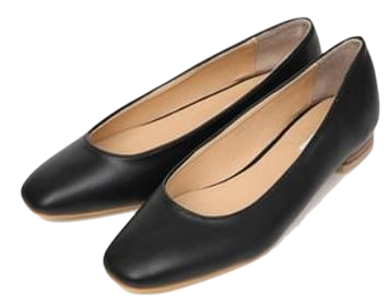 daily wooden flat shoes (4 colors)